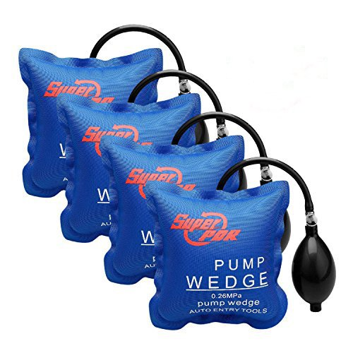4 Pcs Air Wedge FLY5D Pompe à air Coussin gonflable en Plastique Air Pump Wedge Up Outil Alignement Outil Inflatable Shim Coussiné Puissant
