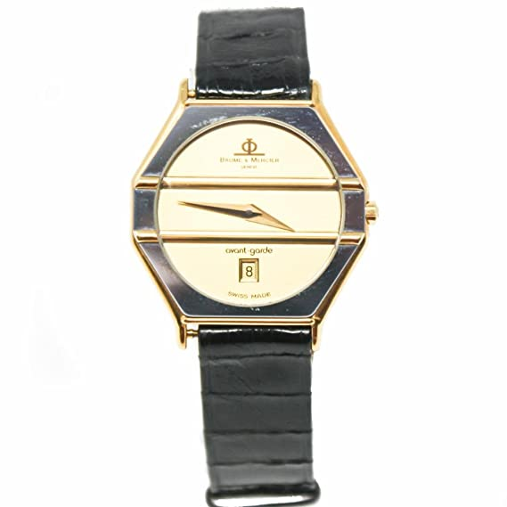 Baume et Mercier - vanguardia cuarzo mujer reloj 5120 (Certificado) de segunda mano: BAUME ET MERCIER: Amazon.es: Relojes