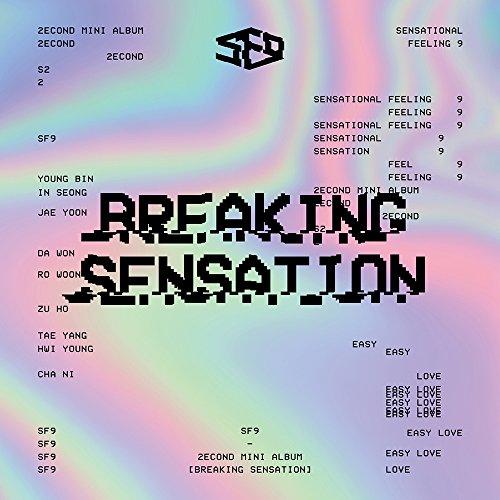 SF9 - Breaking Sensation (2nd Mini Album) CD+Photobook+Photocard+Folded Poster