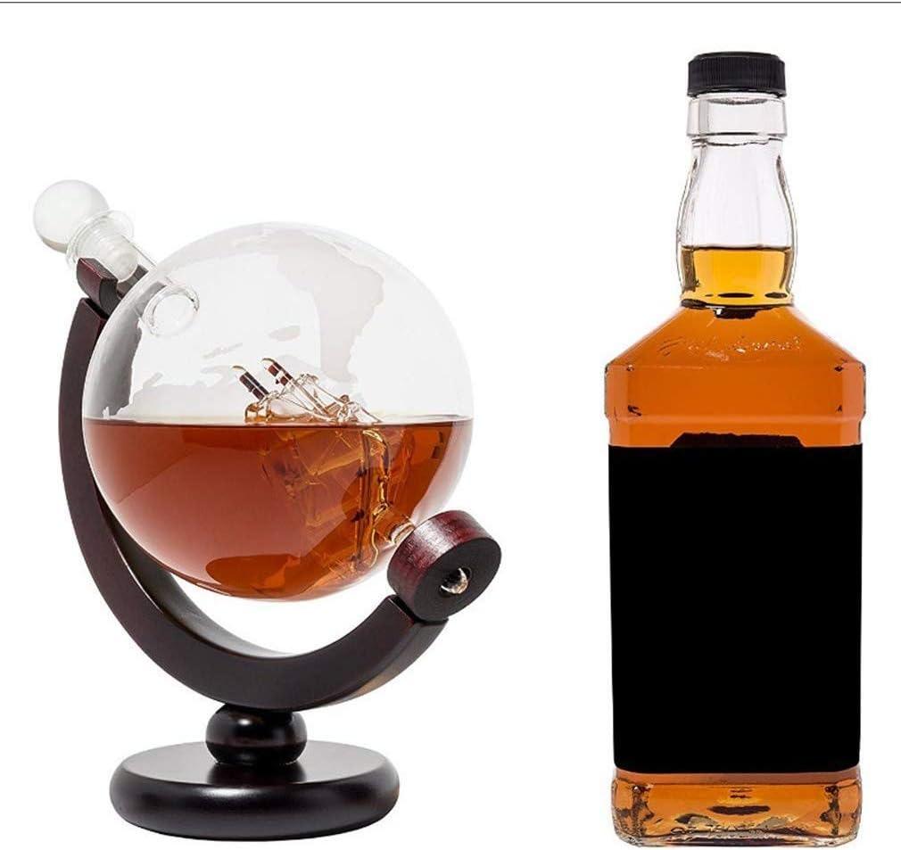 Decantadores Decantador De Globo De Whisky - Set De Regalo ...