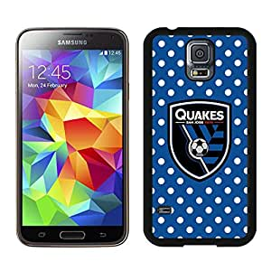 Fashionable And Antiskid Designed MLS san jose earthquakes Samsung Galaxy S5 I9600 G900a G900v G900p G900t G900w Case Cover 02 Black
