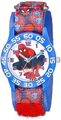Marvel Kids' W001997 Spider-Man Analog Display Analog Quartz Blue Watch