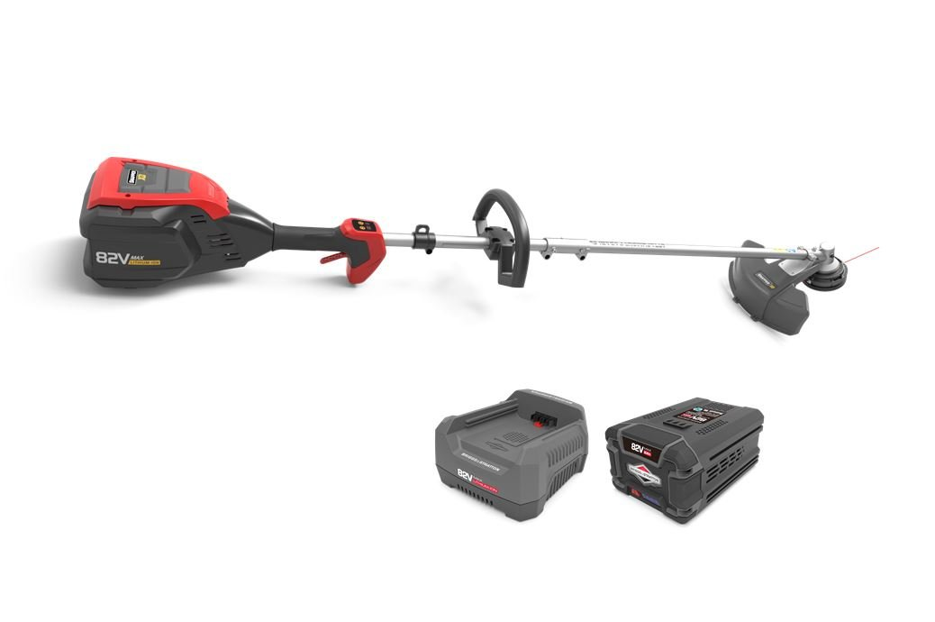 Snapper XD 82V MAX Electric Cordless String Trimmer Kit with 2.0 Battery Rapid Charger, 1687875, SXD82ZSTK