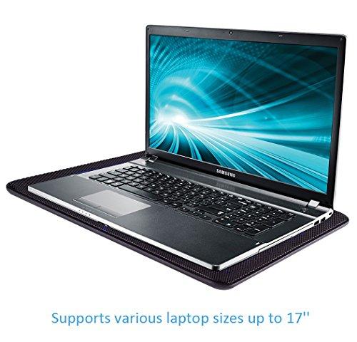avantek 15 17 ultra slim laptop cooling pad cooler 2. Black Bedroom Furniture Sets. Home Design Ideas