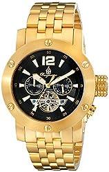 Burgmeister Men's BM329-229 Analog Display Automatic Self Wind Gold Watch