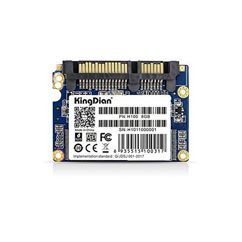 KingDian 1.8 Half-Slim SATA II H100 8G Speed Upgrade Kit Portable External Solid State Storage Drive SSD for Desktop PCs and MacPro - Ocz Pc
