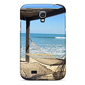Mwaerke Fashion Protective Listen To The Waves Case Cover For Galaxy S4