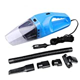 FUWAY 12V Car Auto Vacuum Cleaner Wet Dry Handheld Rechargeable Brush Dust Cleaning Handheld Vacuums