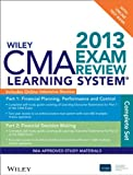 Wiley Cma Exam Review 2013 Learning System and Online Intensive Revew + Test Bank, Ima, 111848066X