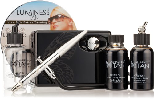Luminess Air Airbrush Natural Glow Tanning Kit, Shade Medium