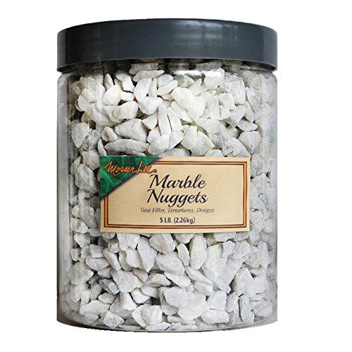 Mosser Lee M2171H 5 lb Marble Nuggets Soil - Terrarium Stones