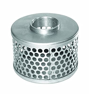 """AMT Pump C230-90 Suction Strainer, Steel, 2"""" with 3/8"""" Openings"""