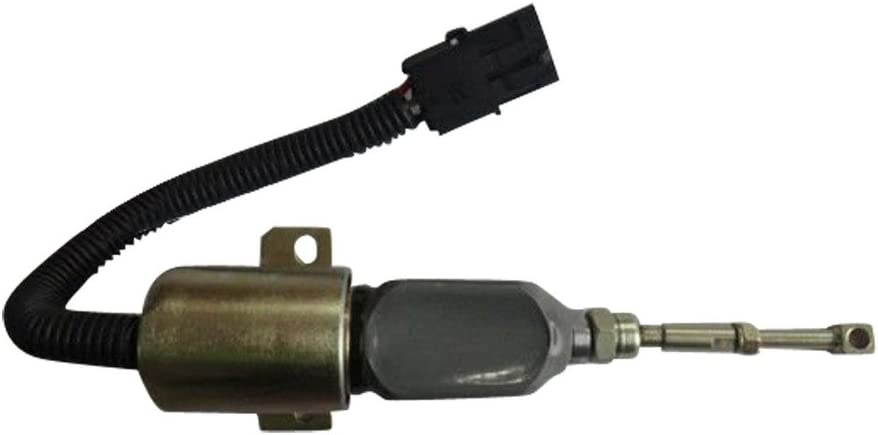 1752ES-24E7UC3B1S1 SA-4888-24 24V Diesel Engine Stop Solenoid SINOCMP Cut Down Solenoid for Cummins Cut Off Solenoid Parts 3 Month Warranty
