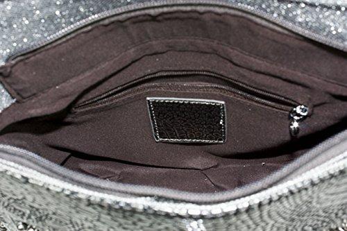 PR Strap Fashion Long Cross Metallic Shoulder Handbag Bag ZH9931 Handmade Body Beaded A qCagwg