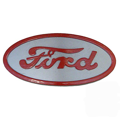 (8N16600A 8N16600B Front Hood Nose Emblem Medallion Badge Grill For Ford)