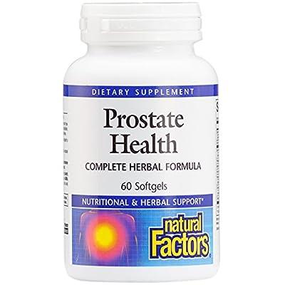 Natural Factors - Prostate Health Formula, Complete Herbal Formula, 60 Soft Gels