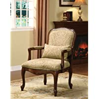 Basil Cotton Arm Chair