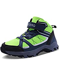 Kids Hiking Shoes Boys Winter Trekking Hiking Shoes Ankle...