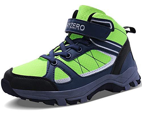 - Vivay Kids Hiking Shoes Boys Winter Trekking Hiking Ankle Boots Outdoor Athletic Sneakers(Little Kid/Big Kid)