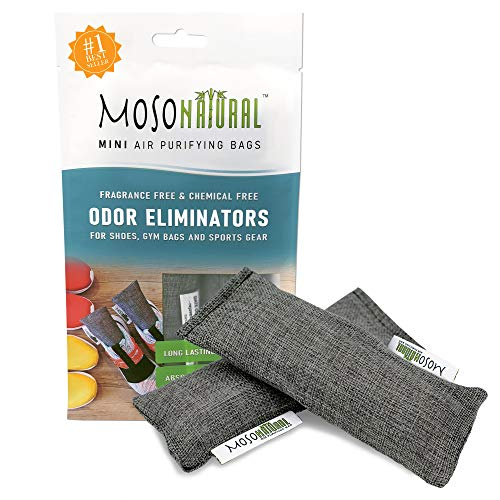 🥇 MOSO NATURAL: The Original Air Purifying Bag. for Shoes