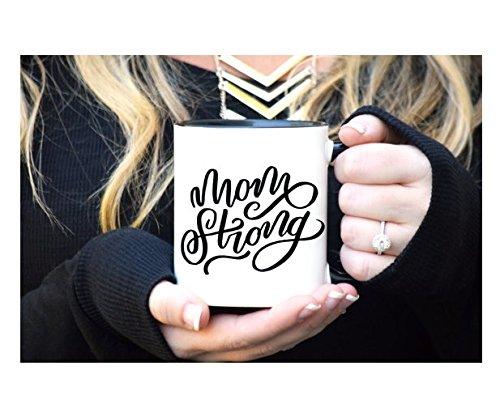Mom Strong, Mom Mug, Mama Bear, Mother Mug, Baby Shower Gift Mug, Gift for Mom, Mother's Day Gift, Mom Strong Mug