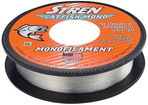 Stren Catfish Monofilament Fishing Line, Clear/Blau Fluorescent, 425-yard/30-pound by Stren