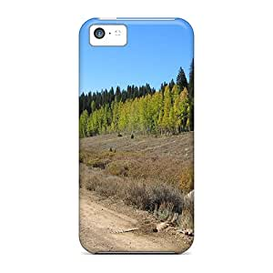 Tpu Happycases2005 Shockproof Scratcheproof Beaver Creek Mountain Road Hard Cases Covers For Iphone 5c