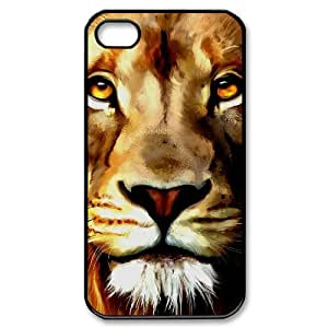Hard Shell Case Of Lion Customized Bumper Plastic case For Iphone 4/4s