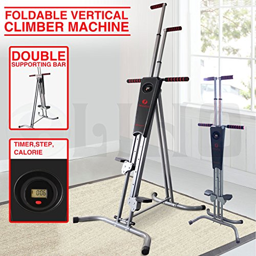 New Vertical Climber Machine Exercise Equipment Stepper Cardio Fitness Gym by tamsun