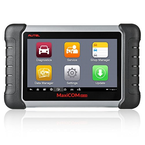 Autel OBD2 Scanner MaxiCOM MK808 Automotive Diagnostic Tool Supports Full System Diagnosis & IMMO/EPB/SAS/BMS/TPMS/DPF(MD802 All System+MaxiCheck Pro) (1 User Standard Programming Tool)