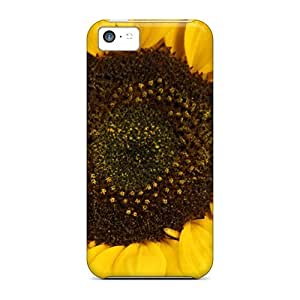 fenglinlinSnap-on Big Big Sunflower Cases Covers Skin Compatible With iphone 6 plus 5.5 inch