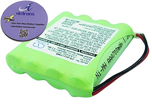 vintrons (TM) Bundle - Replacement Battery For LINDAM Infant 02170,Infant 02174,Infant 02320, + vintrons Coaster