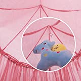 """7'10"""" Bed Canopy for Kids Reading Play Tents"""