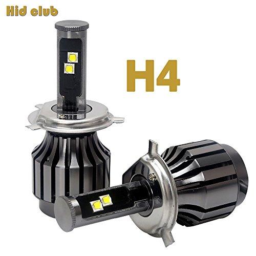 H4 Led Headlight Lamp Conversion Kit 9003 HB2 Car Auto DRL Fog driving light Headlight 6000K white (H1)