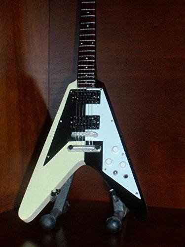 Mini Guitar UFO MICHAEL SCHENKER Flying V DISPLAY (Guitar V Flying Hero)