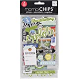 Me & My Big Ideas CBVX47 Chipboard Value Pack-Vacation