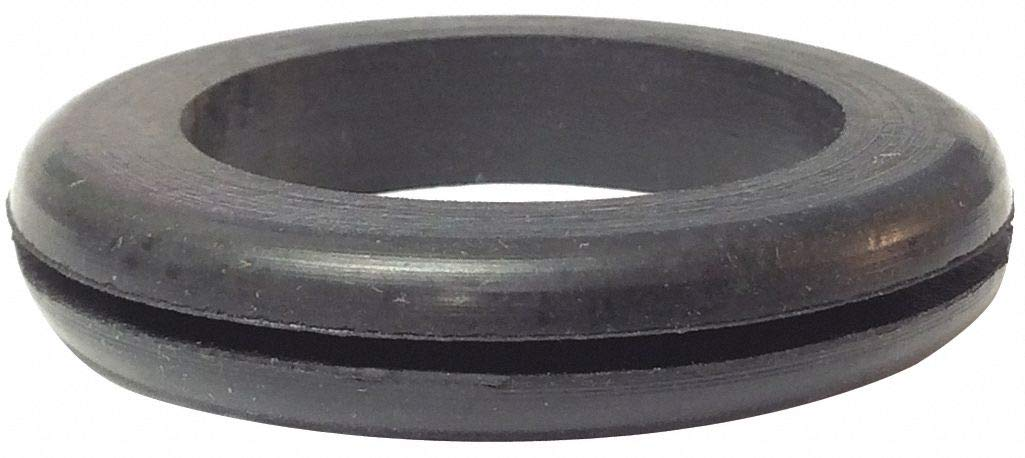 Style 1 Rubber Grommet, 1-1/4'' I.D, 1-7/8'' O.D, 1/16'' Panel Thickness, PK25 - pack of 5