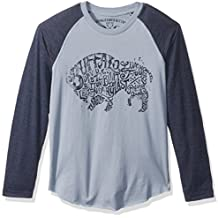 Buffalo by David Bitton Boys Typo Dos Long Sleeve Raglan Shirt
