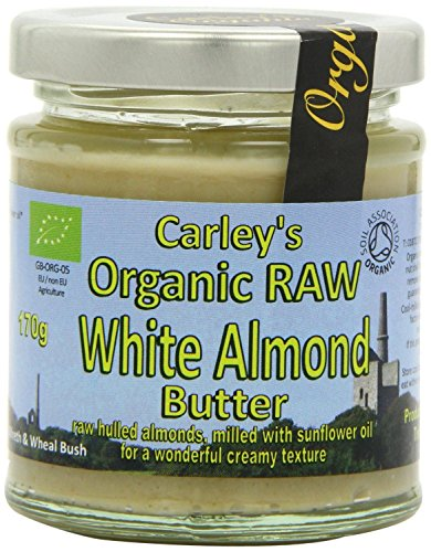 Carley's - Organic Raw White Almond Butter - 170g