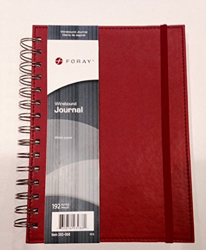 Foray Wirebound Journal (Office Foray Depot)