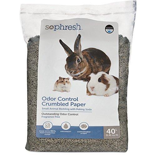 So Phresh Crumbled Paper Small Animal Bedding, 40L, 40 L