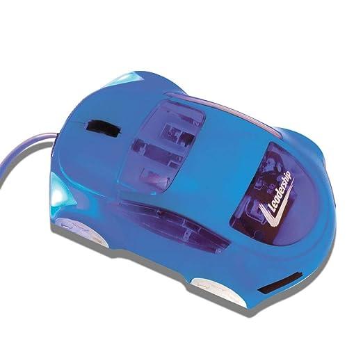 Mouse Usb Óptico Led 800 Dpis Car Azul 7541 Leadership