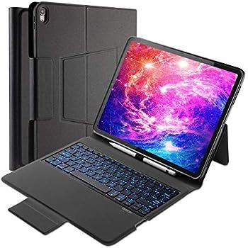 pretty nice 41473 a1dca Amazon.com: Inateck iPad Pro 12.9 Inch Keyboard Case 2018 3rd Gen ...