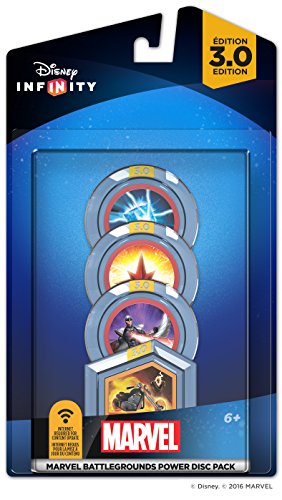Disney Infinity 3.0 Edition: MARVEL Battlegrounds Power Disc Pack by Disney Infinity