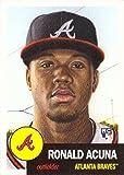 #6: 2018 Topps Living Set #19 Ronald Acuna Baseball Rookie Card Atlanta Braves