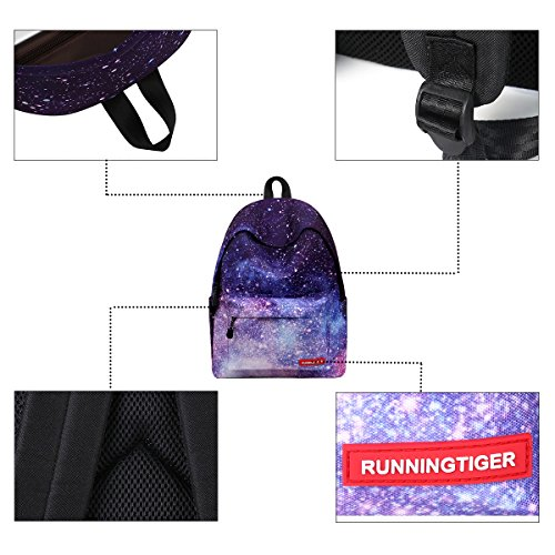 de de Star Mochila Pencil Estudiante Galaxy Bolsa Escolar Daypack Mochila para Mochila Estuche JOSEKO Pattern Mochila Hombro portátil 4xqnvad88A