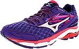 Mizuno Women's Wave Inspire 12 Running Shoe, Royal Purple/Silver, 6 D US