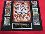 Astros 2017 World Series Champions 6 Card Collector Plaque w/8x10 Color Photo