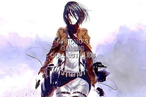 CGC Huge Poster - Attack on Titan Anime Poster Shingeki no Kyojin - Mikasa - AOT024 (24