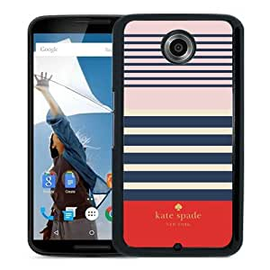 Abstract Design Google Nexus 6 Case,Kate Spade 1 Black Custom Google Nexus 6 Phone Case